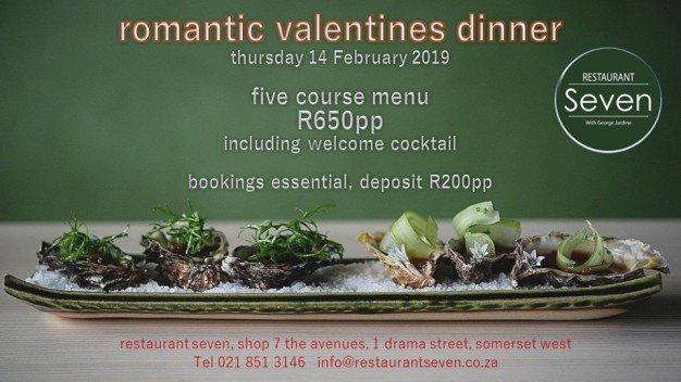 Valentines Day Restaurant Seven