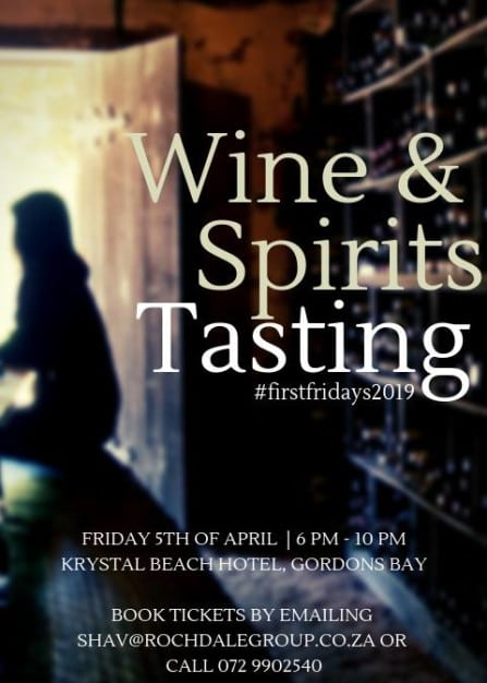 Firstfridays2019 Wine & Spirits Tastings with Rochdale Group