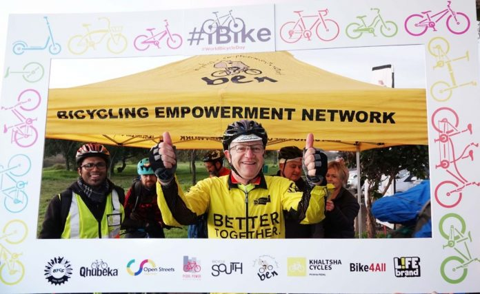 Cape Town celebrates World Bicycle Day