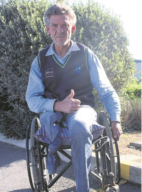 Wheelchair ride Distrikspos