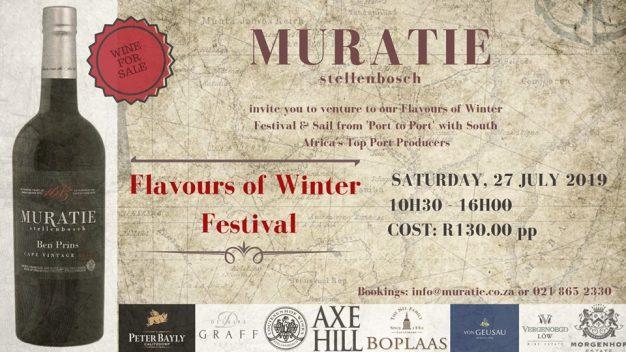 Muratie Flavours of Winter Festival 2019