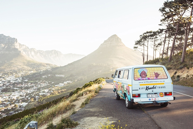 Cape Town on a Kiff Kombi tour!
