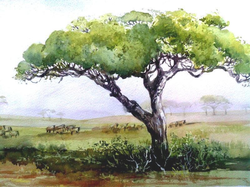 Watercolor Art Lessons