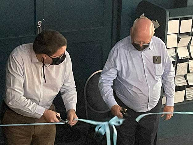 Mayor part of ribbon cutting ceremony at Whale House Museum