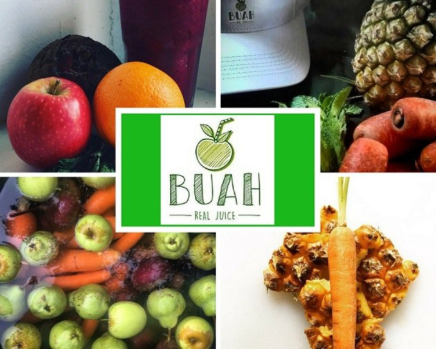 Buah Juice Images of fresh fruit and vegetables used to prepare our juices