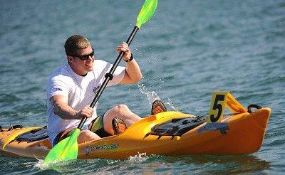 Man on a Kayak
