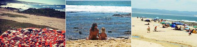 Enjoying Jeffreys Bay - Pristine Beaches - some of the best in South Africa.