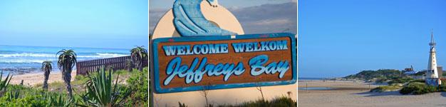 The beaches of Jeffreys Bay