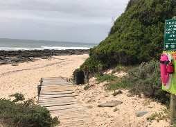 suspected body found floating in the surf along Jeffreys Bay
