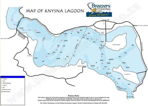 Knysna Lagoon Fishing