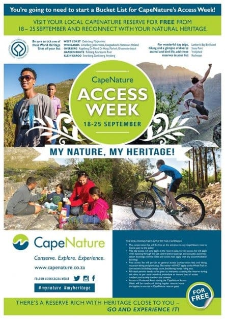 Cape Nature Free Access