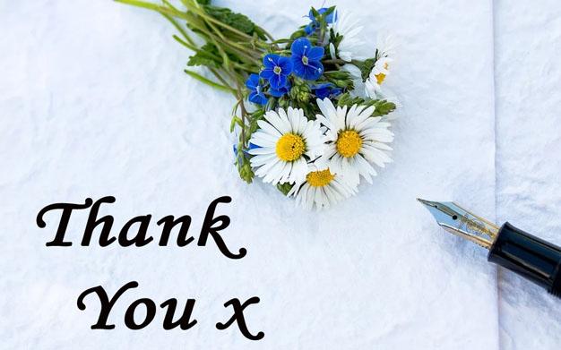 Thank you from Sasha Botha