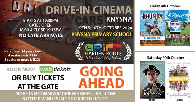 Get out and support the Garden Route International Film Festival