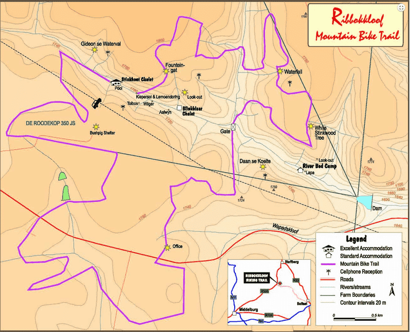 Ribbokkloof MTB trails Middelburg Mpumalanga Middelburg