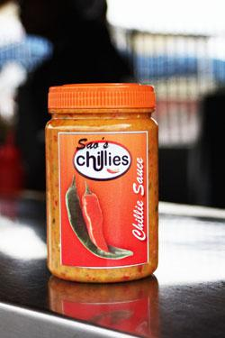 The Prego Lady's Chilli Sauce