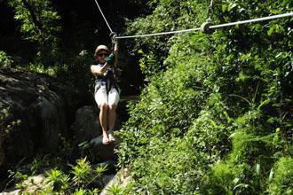 Zip Line at Skyway Trails