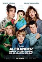 alexander and the terrible, horrible day