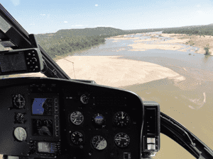 Grant Knight Helicopter Pilot Kruger Park