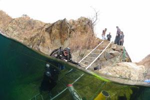 Scuba Diving at Komati Springs.