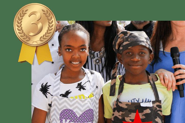 Kenya & Amu Ngubane - 3rd Place