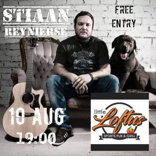 Stiaan live at Little Loftus
