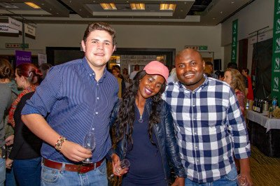 Ben Sharples, Busi Mkhombo and Langton Ndlovu of Singita in Sabi Sands