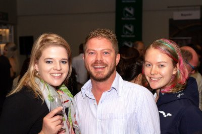 Megan Buys, Naas Liebenberg and Courtney Grobler