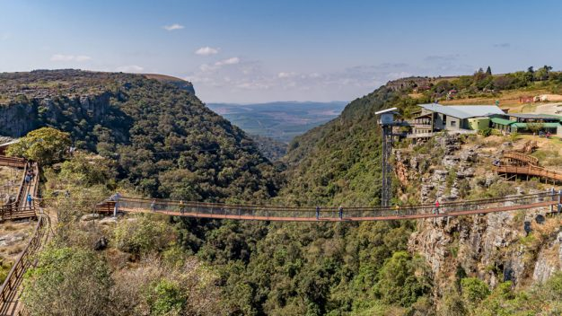 Graskop Gorge Lift Suspension Bridge
