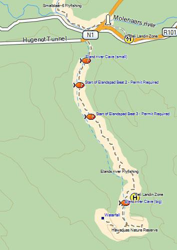 Elands River Trail, Limietberg Nature Reserve
