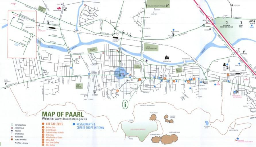 Paarl Maps | ShowMe Paarl on bridge street map, road map, parking lot map, jackson street map, a street art, a street intersection, washington street map, weather map, state map, detailed street map, physical map,