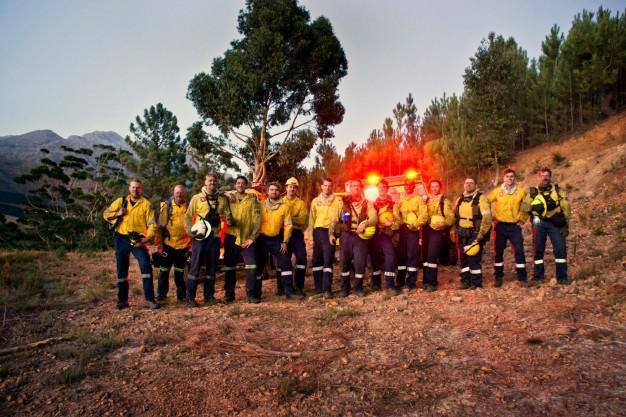 Volunteer Wildfire Services Crew