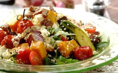 Vegetables with cous cous