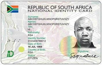SA Smart ID Card
