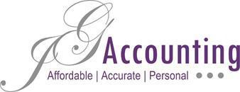 JG accounting logo