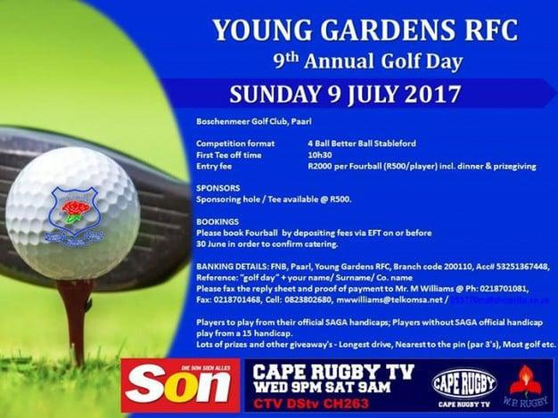 Young Gardens Annual Golf Day at Boschenmeer Golf Estate | Paarl