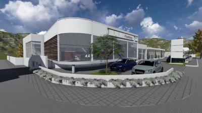 The new and improved Paarlberg BMW showroom