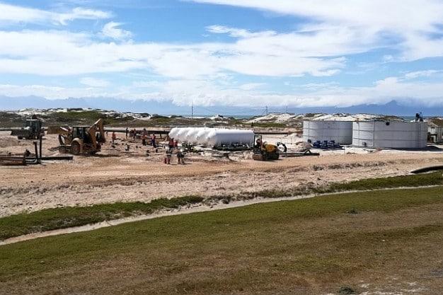 2018-3-12 Standfontein desal plant under construction 8Mar18