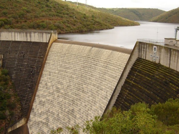 Dam, Wolwedans