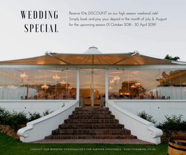 VNL wedding special