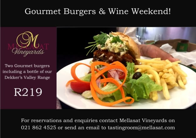 Gourmet Burgers September