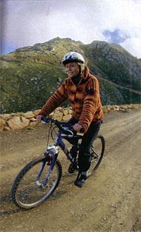 Biking through the Swartberg pass