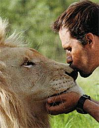 kiss the lion