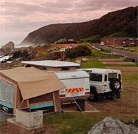 Storms river caravan site