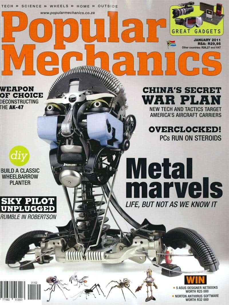 Popular Mechanics January 2011