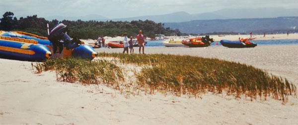 Keurbooms Lagoon Beach