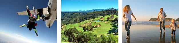 From Sky-diving to Golf to Beautiful Beaches in Plettenberg Bay