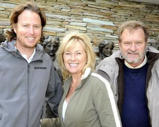 Roger Wynne-Dyke, Linda and Ole Olsen from Aquavit