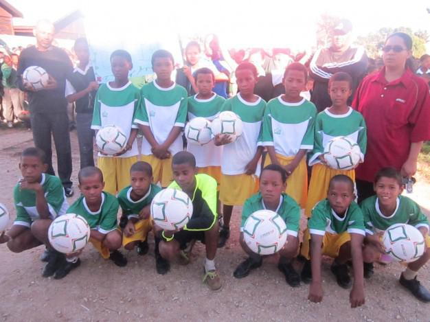 Plett Build It - Assisting Schools with Sports Development - Kranshoek Primary School
