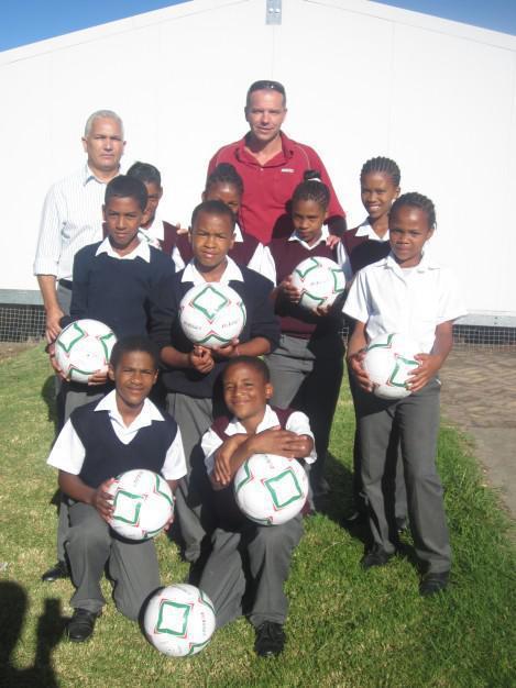 Plett Build It - Assisting Schools with Sports Development - Wittedrift Primary School