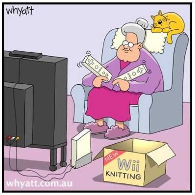 New Age Knitting